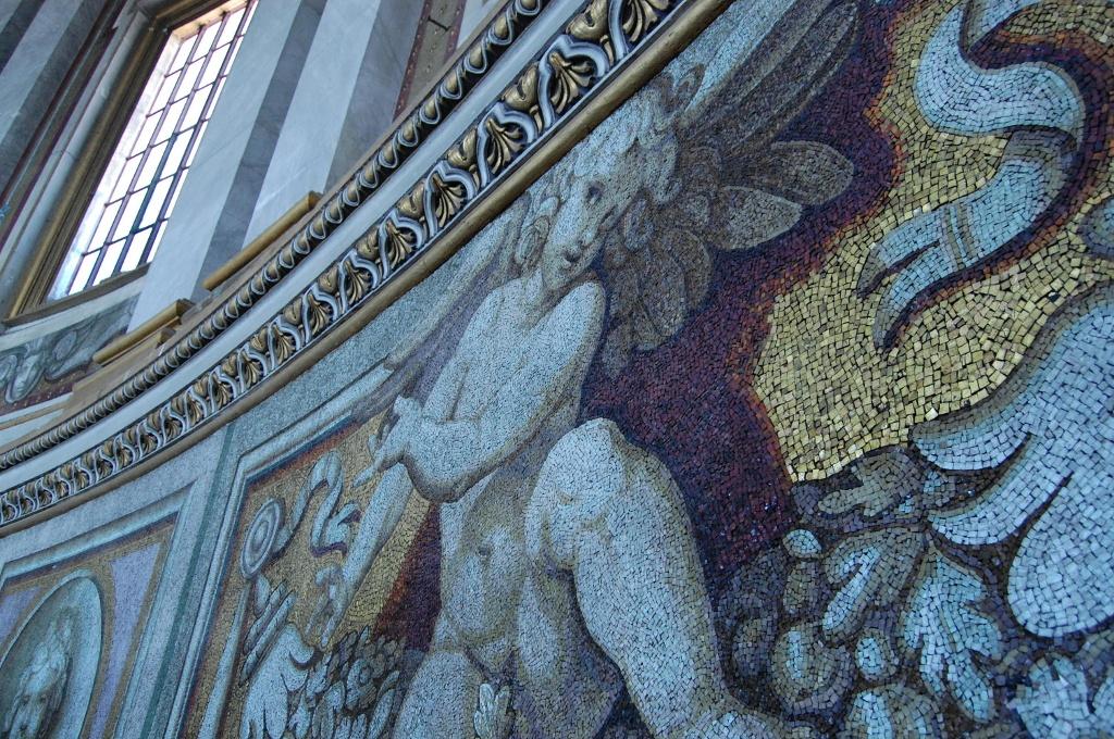 Rome - Mosaiques de la Basilique Saint-Pierre