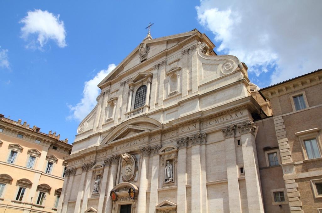 Rome - Eglise Gesu (Baroque)