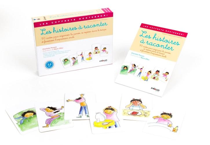 Coffret Montessori - Les Histoires à raconter