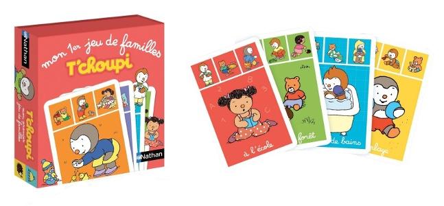 Jeux des 7 familles T'Choupi