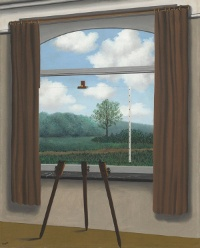Magritte, La Condition Humaine