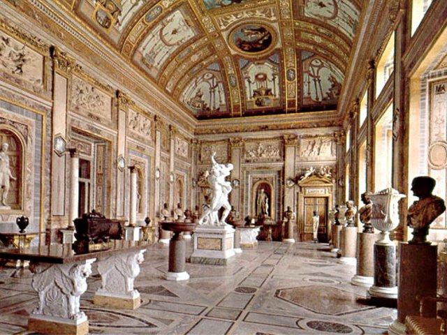 Rome - la galerie Borghèse