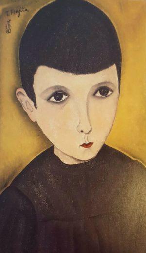 Foujita Portrait de petit écolier 1918
