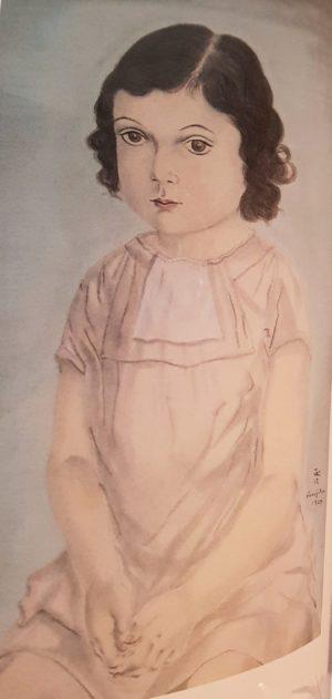 Foujita Portrait de Philomène 1925
