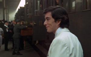 arrivée du jeune homme Roma de Fellini