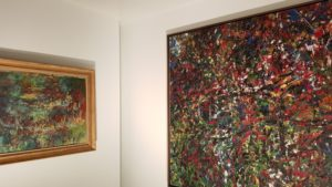 Comparaison Monet/Riopelle