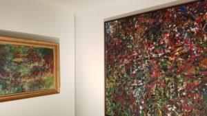 Comparaison Monet/Riopelle