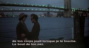 Annie Hall brooklyn bridge