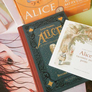4 versions d'Alice aux pays des merveilles